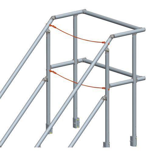 Accessoire voor vaste loopbrug 45° en 60°