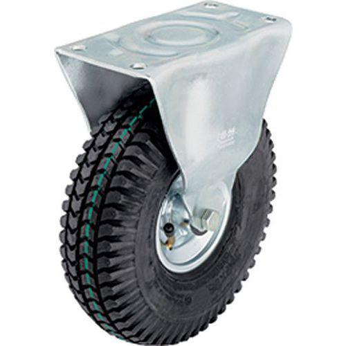 Bokwiel met grondplaat - Draagvermogen 75 tot 250 kg