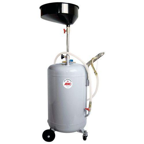 Opvangbak voor pneumatische olie - Capaciteit 80 L