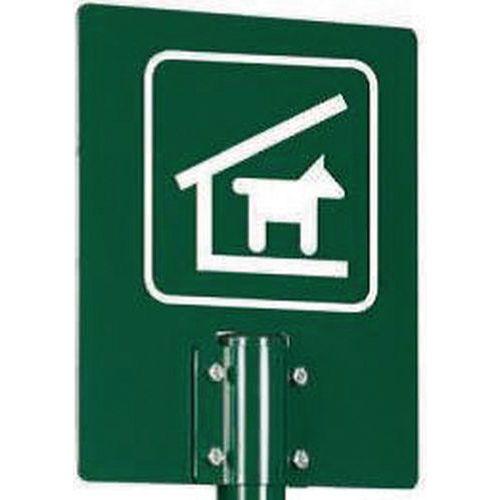 Signaalbord hond A4 voor hondenuitlaatplek