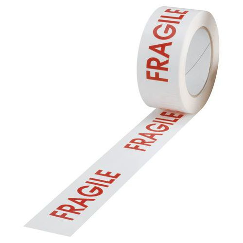 PVC-tape - Met opdruk - Fragile