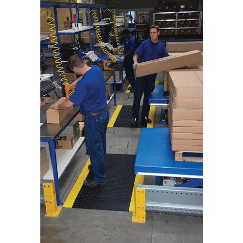 Ergonomische antivermoeidheidsmat Cushion-Trax® - In tapijtvorm