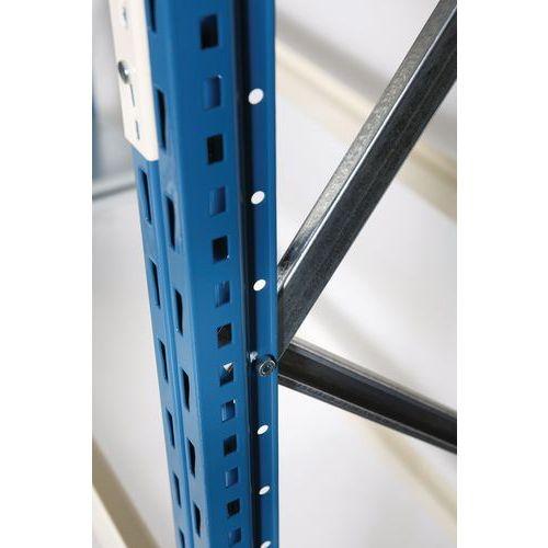 Juk Mini-Rack Pro - Hoogte 2000 mm - Epoxy