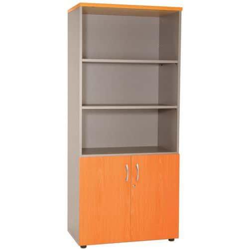 boekenkast met 2 lage deuren