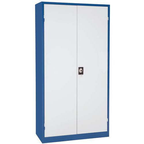 Universele werkplaatskast - Hoogte 195 cm - Breedte 100 cm - Manutan