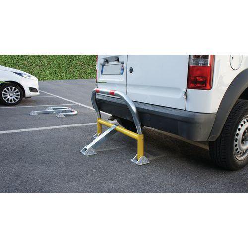 Flexibele parkeerbeugel met schokdempers