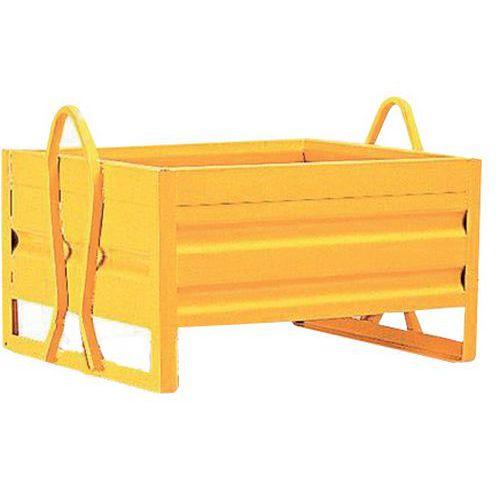 Kiepcontainer - Gesloten