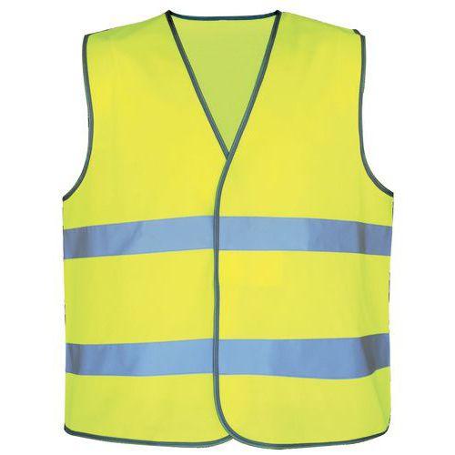 Veiligheidsvest met hoge zichtbaarheid - geel