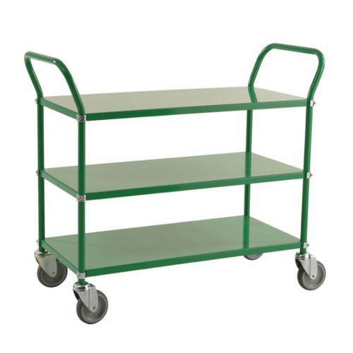 Lichtgekleurde trolley 3 plateaus 250 kg