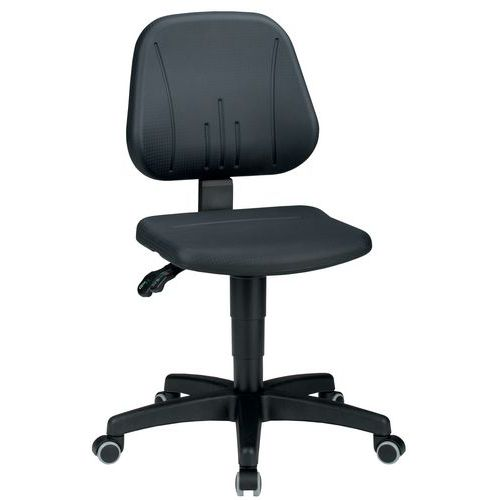 Ergonomische werkplaatsstoel Bimos Unitec - Polyurethaan