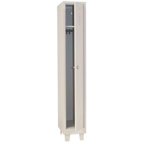 Garderobekast lichte industrie - Met slothouder - Breedte 300 mm - Op poten - Manutan