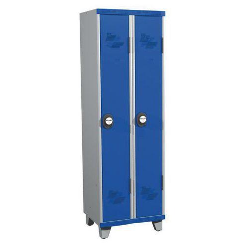 Afbeelding van Garderobekast 2 kolommen Seamline Optimum® - Kolombreedte 300 mm - Op poten