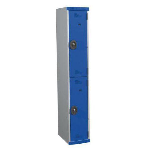 Garderobekast 2 vakken Seamline® - Kolombreedte 300 mm - Op voet