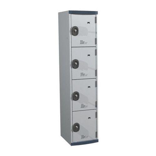 Locker 4 vakken Seamline® - Kolombreedte 400 mm - Op voet