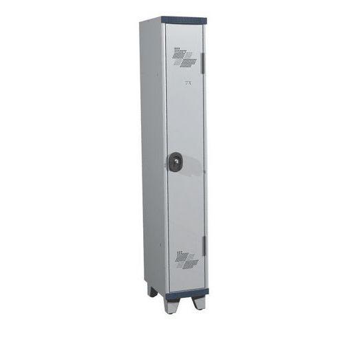 Garderobekast 1 kolom Seamline Optimum® - Kolombreedte 300 mm - Op poten
