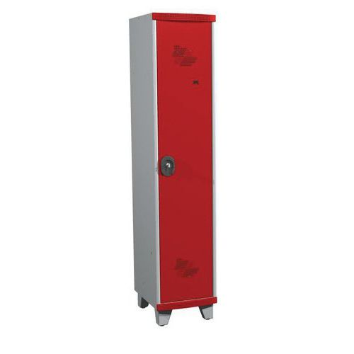 Afbeelding van Garderobekast 1 kolom Seamline Optimum® - Kolombreedte 400 mm - Op poten
