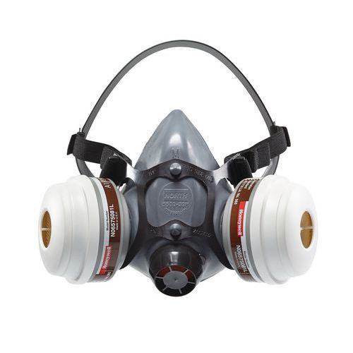 Halfgelaats ademhalingsmasker met vervangbaar patroon N5500