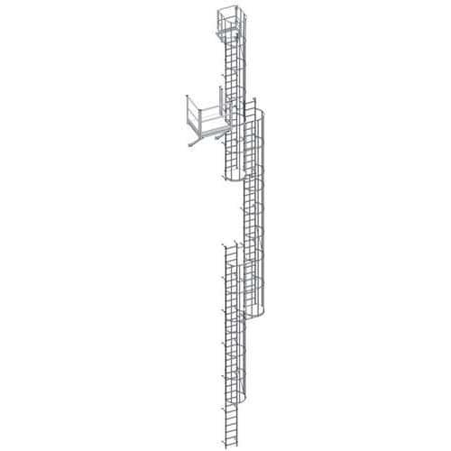 kooiladderset - Hoogte van 5741 tot 6640 mm