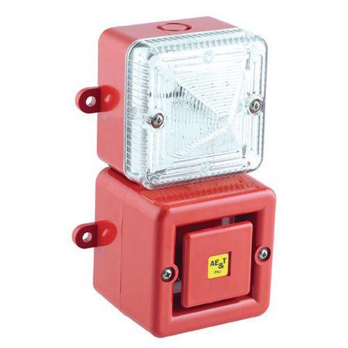 Afbeelding van Combinatie Tonaled met sirene 100 dB en LED-zwaailicht