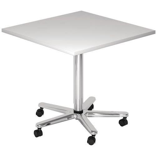 Verrijdbare tafel in hoogte verstelbaar for Tafel hoogte