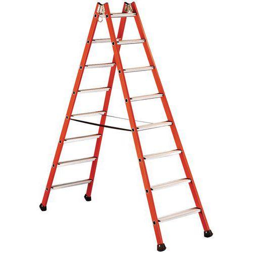 Dubbele isolerende ladder