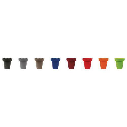 Gekleurde designpot - 760 l