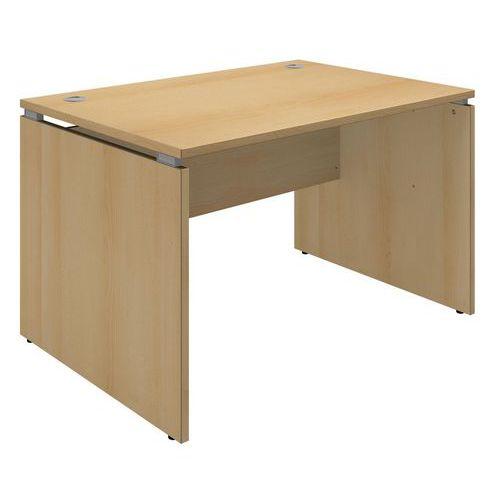 bureau recht square meubellijn square totale breedte 120 cm type recht tafelblad