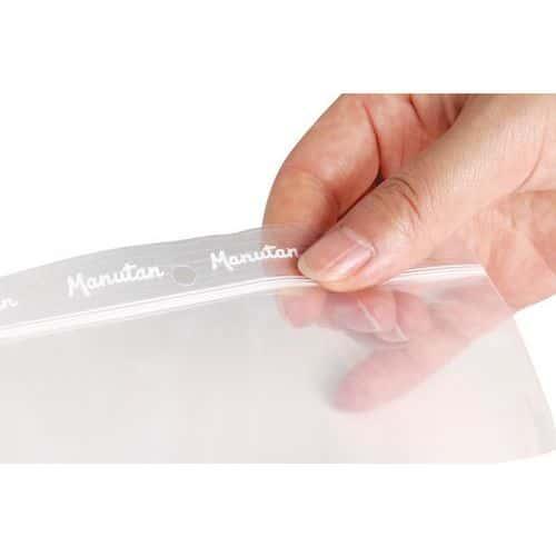 Transparante gripzakjes 50 µm - Manutan