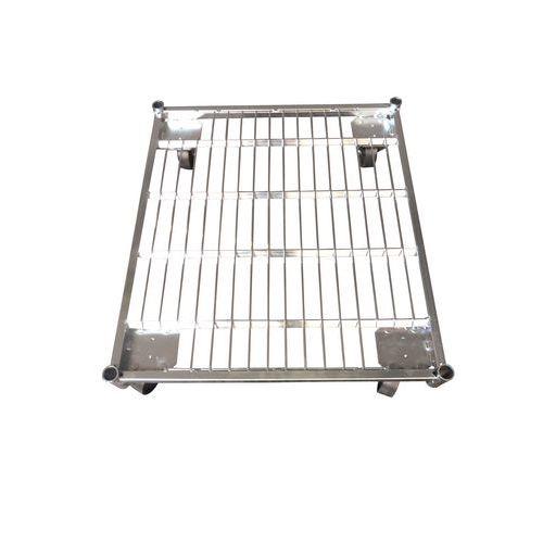 Stalen basis voor rolcontainer met draagvermogen 500 kg