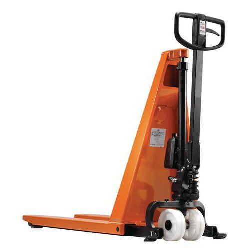 Hoogheffende handpalletwagen - Hefvermogen 1000 kg