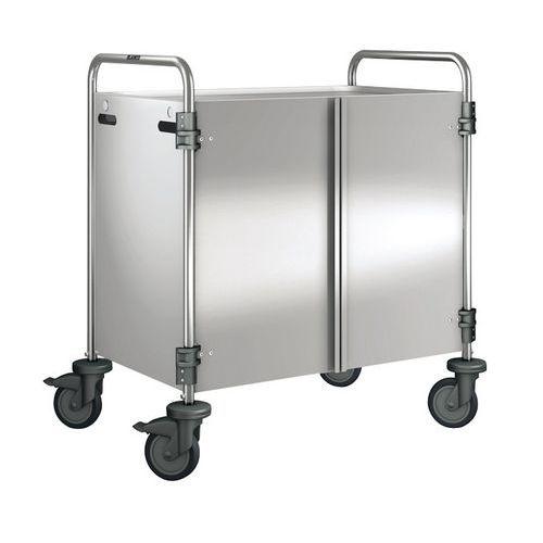 Afbeelding van Afwerkingsset voor serveerwagen met 2/3 legborden belasting 200 kg