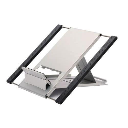 Sokkel voor notebook/tablet, zilverkleurig