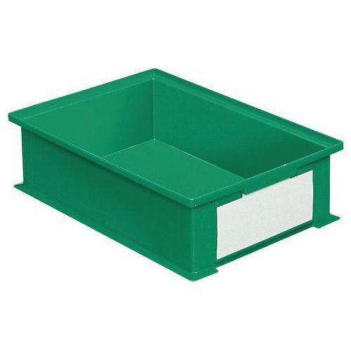 Stapelbare bak met speciale afmetingen - Groen