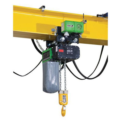 Elektrische takel stahl draagvermogen 1000 tot 5000 kg for Paranco elettrico 1000 kg