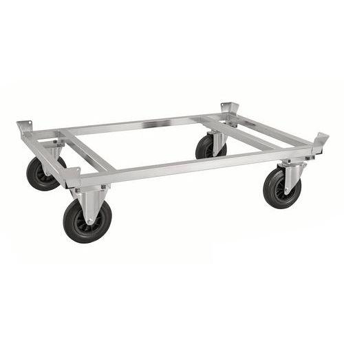Pallettrolley met pallethouder KM217-EP