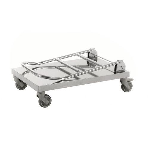 Roestvrijstalen platformtrolley C2 18/0