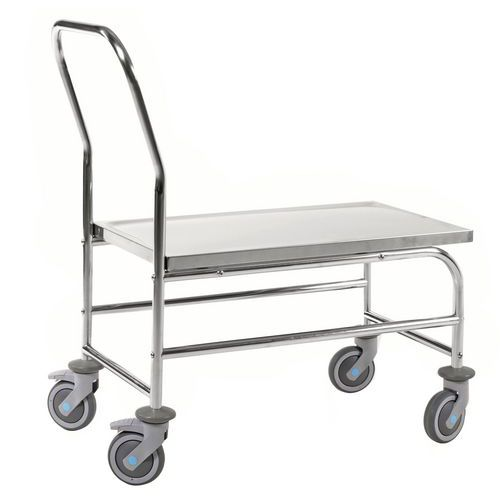 RVS platformtrolley KM60363