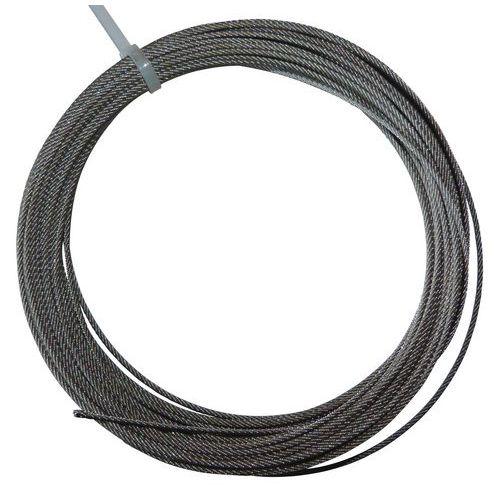Kabel van gegalvaniseerd staal op haspel - 25 meter