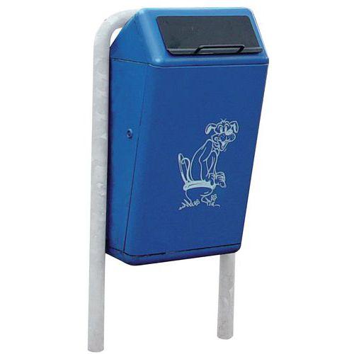 Afbeelding van Afvalbak Capitole voor hondenpoep - 50 liter