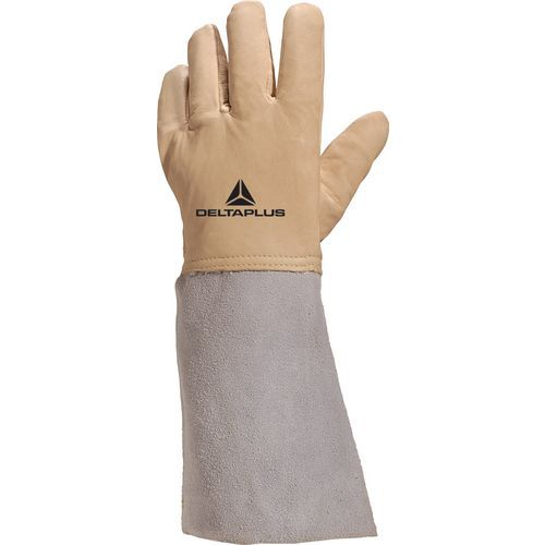 Waterafstotende lederen cryogene handschoenen Cryog - Deltaplus