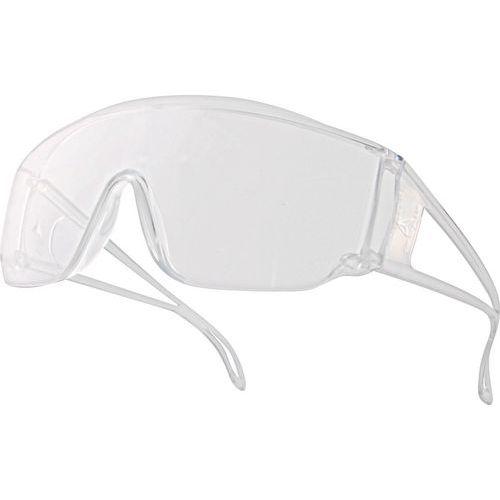 Bezoekersbril kleurloos polycarbonaat uit Één stuk Piton