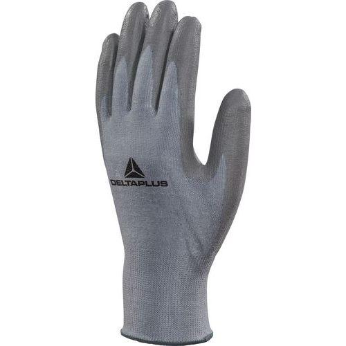 Handschoen Grijs, Deltanocut, Pu-Coating Op Palm maat 15