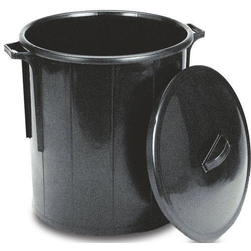 Deksel voor cilindervormige container