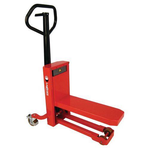Palletwagen/stapelaar 1/4 pallet - draagvermogen 300kg