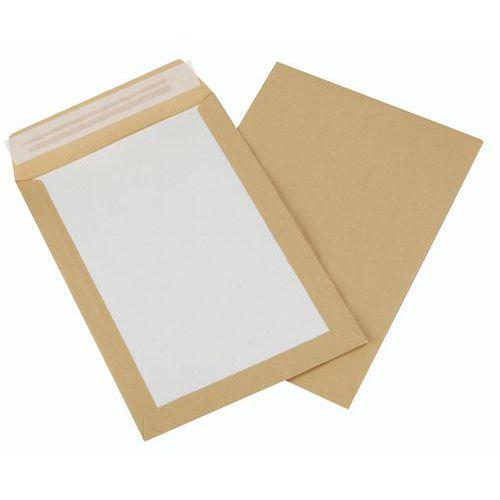 Afbeelding van 100 enveloppen met kartonnen rug