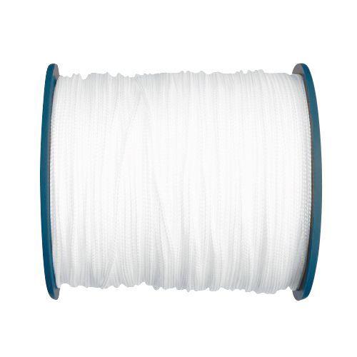 Wit, nylon hijstouw