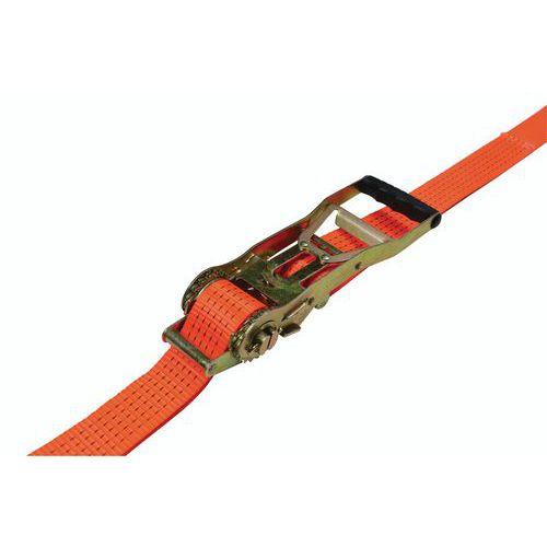 Sjorband - Belasting 2500 kg - Ergonomische ratel - Manutan