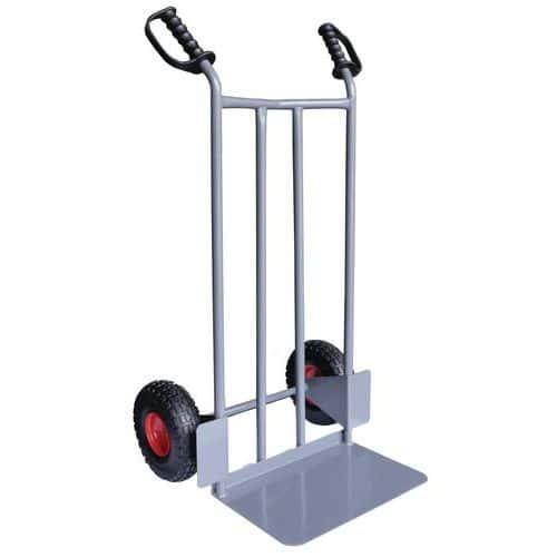 Steekwagen staal 250 kg - Lekbestendige banden - Manutan