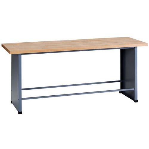 werkbank fk basismodule breedte 200 cm manutan. Black Bedroom Furniture Sets. Home Design Ideas