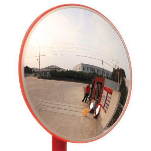 Veiligheidsspiegel - zicht 130° - Manutan